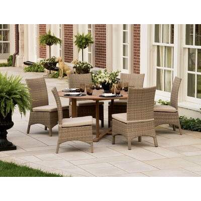 Oxford Garden Torbay Dining Side Chairs with Cushions