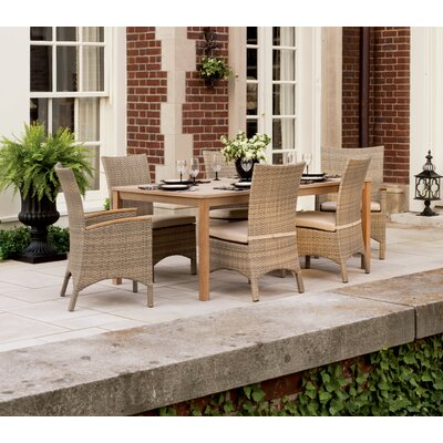 Oxford Garden Torbay Dining Side Chairs with Cushions (Set of 2)