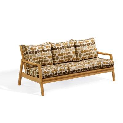 Siena sofa with deep seat cushions wayfair for Deep sofas for sale