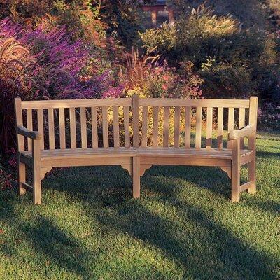 Oxford Garden Essex Curved Wood Garden Bench Amp Reviews