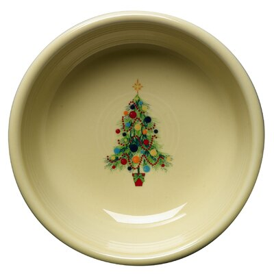 Fiesta ® Christmas Tree Cereal Bowl