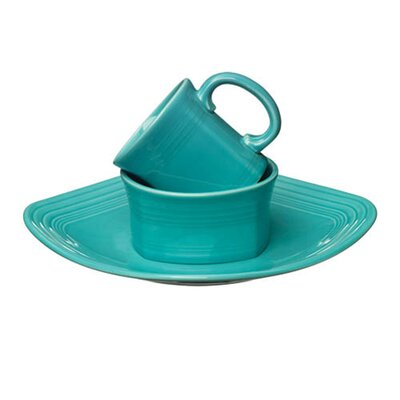 Fiesta Cookware® Mix 'n' Match Square 3 Piece Setting Dinnerware Set