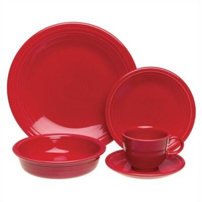 Fiesta Cookware® 5 Piece Place Setting