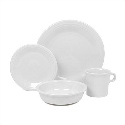Fiesta Cookware® Mix 'n' Match 4 Piece Setting Dinnerware Set