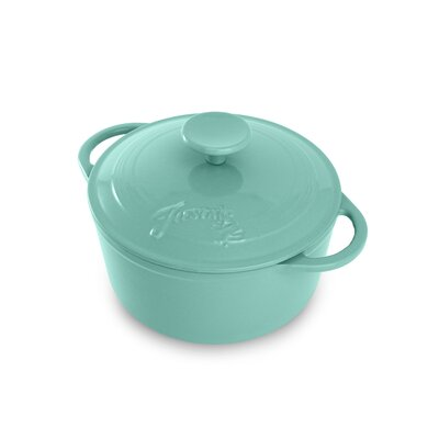 Fiesta Cookware® 3.5 Qt. Cast Iron Dutch Oven with Lid