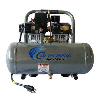 California Air Tools 1.6 Gallon Ultra Quiet and Oil-Free 1.0 HP Aluminum Tank Air Compressor