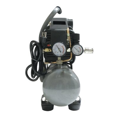 California Air Tools 1.6 Gallon 1.0 HP Steel Tank Oil-Lubricated Air Compressor