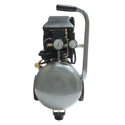 California Air Tools 6.3 Gallon 2.0 HP Steel Tank Oil-Lubricated Air Compressor