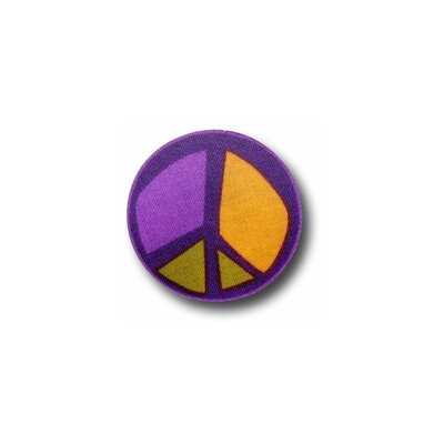 Peace Purple 3 Drawer Knob