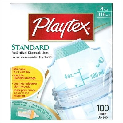 Playtex Standard Bottle Liners 4 oz 100 count