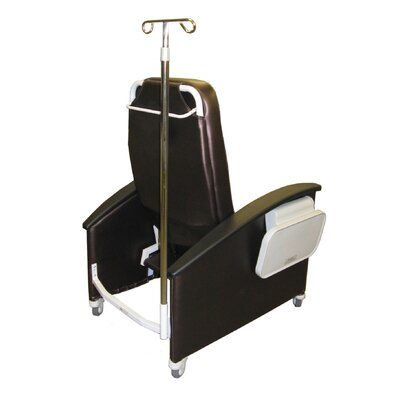 Winco Manufacturing Extra Large Clinical Recliner with Steel Casters