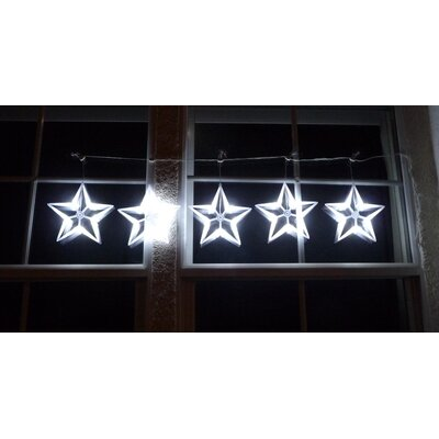 Homebrite Solar Star String Light in White