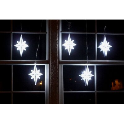 Homebrite Solar Bethlehem Star String Light in White