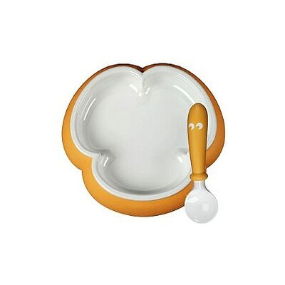 BabyBjorn Sunflower Yellow Plate and Spoon Set