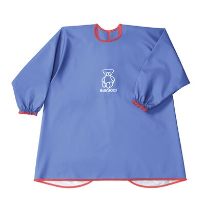 BabyBjorn Eat and Play Smock in Blue
