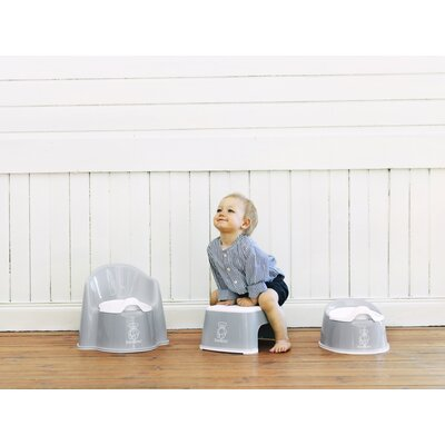BabyBjorn Safe Step Stool in Gray