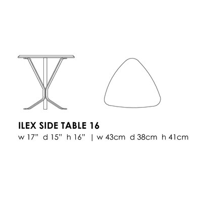 Elemental Living Ilex End Table