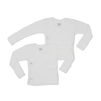 Gerber Baby Care Side Snap Mitt Cuff Shirt, 2 Pack