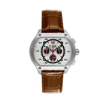 Equipe Dash Men's Watch with Camel Band
