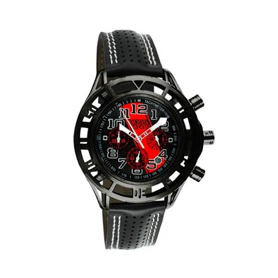 Equipe Mustang Boss 302 Mens Watch with Satin Black Case and Markers