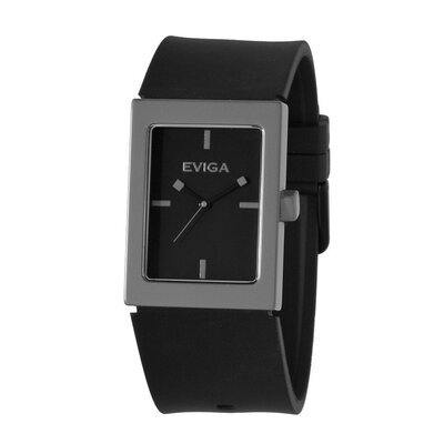 Eviga Ruta Men's Watch in Black with Grey Bezel
