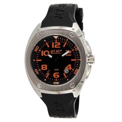Martinique Men's Watch with Black / Orange Dial