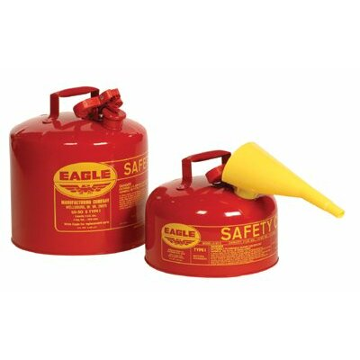 Eagle Type l Safety Cans - 2 gal safety can s/p1