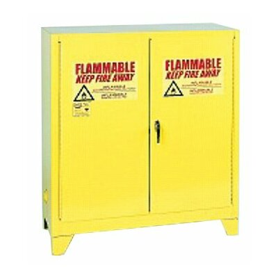 "Eagle 44"" H x 43"" W x 18"" D Flammable Liquid 30 Gallon Safety Storage Cabinet"