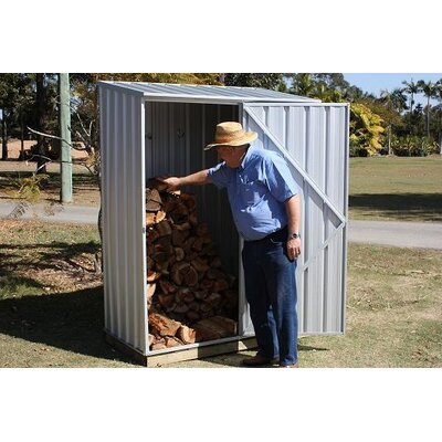 """Absco Spacesaver 5' W x 2'7"""" D Steel Tool Shed"""
