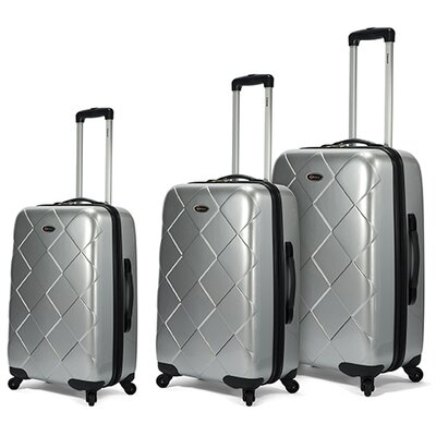 BENZI Hardsided 3 Piece Spinner Luggage Set