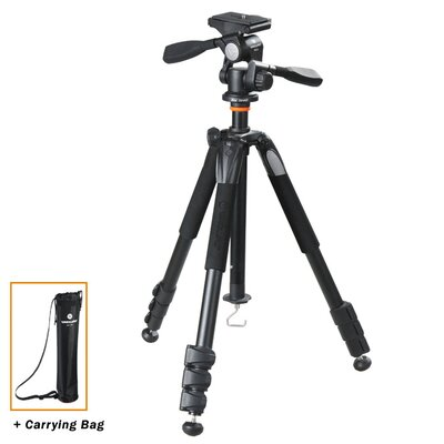 Vanguard USA Alta+ 264AP Aluminum Tripod w/ PH-32 Pan Head