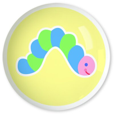 "Olive Kids Flower Land 1.5"" Round Knob"
