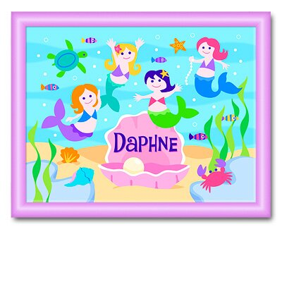 Mermaids Large Personalized Print