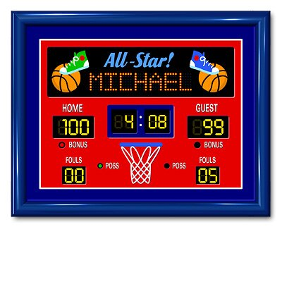 Game On Large Personalized Print