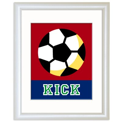 Game On Soccer Personalized Print