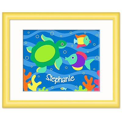 Olive Kids Something Fishy Personalized Print