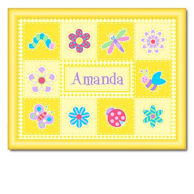 Flower Land Large Personalized Print