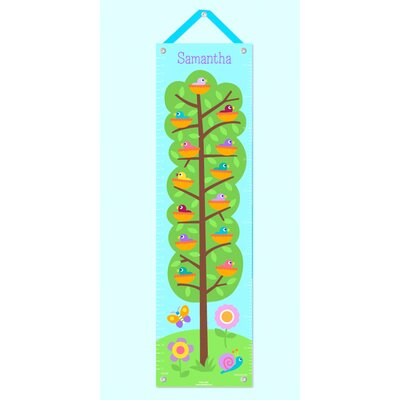 Baby Birds Personalized Growth Chart