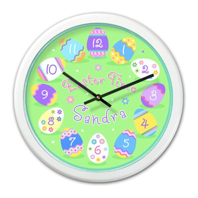 Olive Kids Easter Personalized Clock