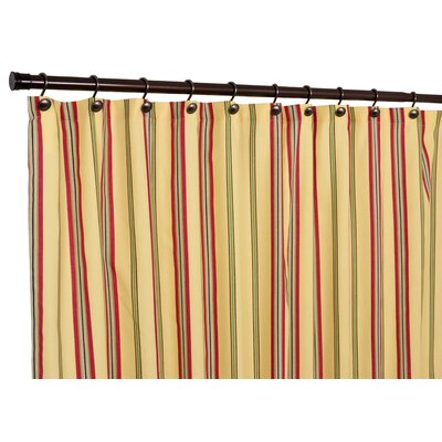 Warwick Polyester Medium Scale Stripe Shower Curtain
