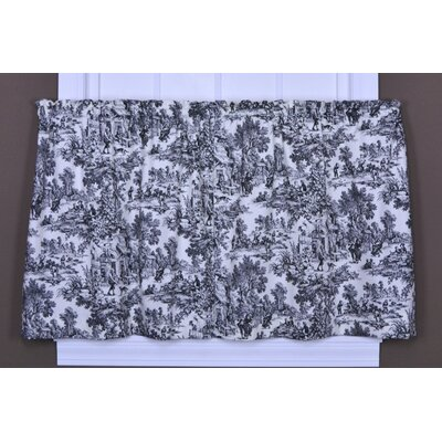 Ellis Curtain Victoria Park Cotton Toile Tier Curtain