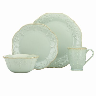 French Perle Ace Dinnerware Collection