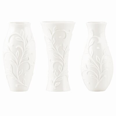 Opal Innocence Carved Small Vase (3 Piece Set)