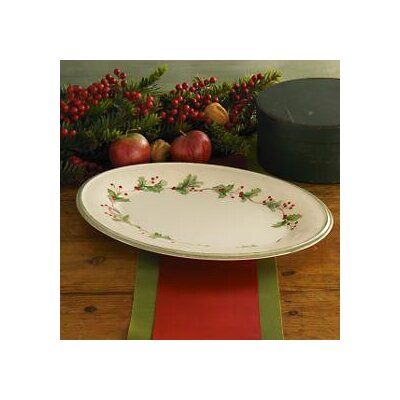 Lenox Holiday Gatherings Oval Platter