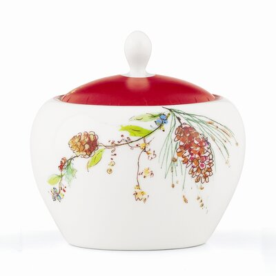 Lenox Winter Song Sugar Bowl