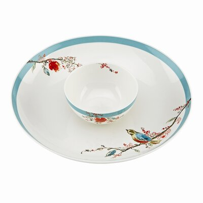 Lenox Chirp 2 Piece Chip and Dip Set