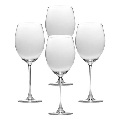 Lenox Tuscany Classics Crystal Grand Bordeaux Wine Glasses (Set of 4)