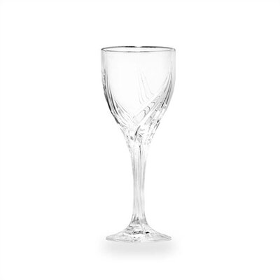 Debut Platinum Crystal Wine Glass