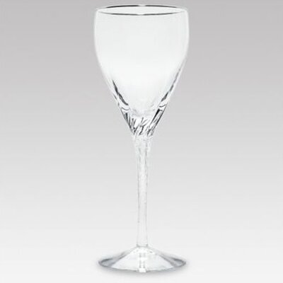 Lenox Encore Platinum Crystal Wine Glass