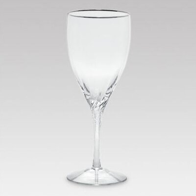 Encore Platinum Crystal Iced Beverage Glass